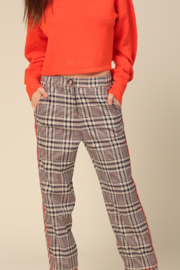 Line & Dot Quinn Side Contrast Pants - Product Mini Image