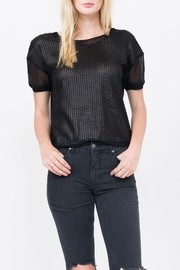 QUINN Tanya Scoop Neck Tee - Front cropped