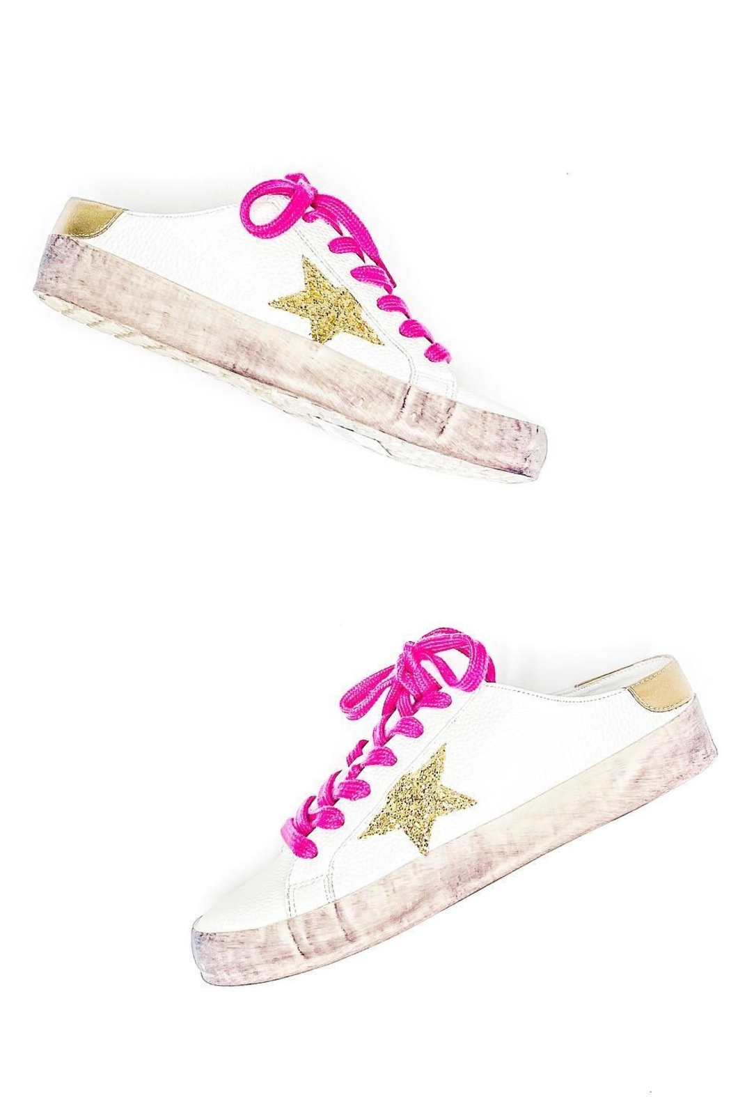 Shu Shop Shoes Quinta-01 Star Sneaker - Front Cropped Image
