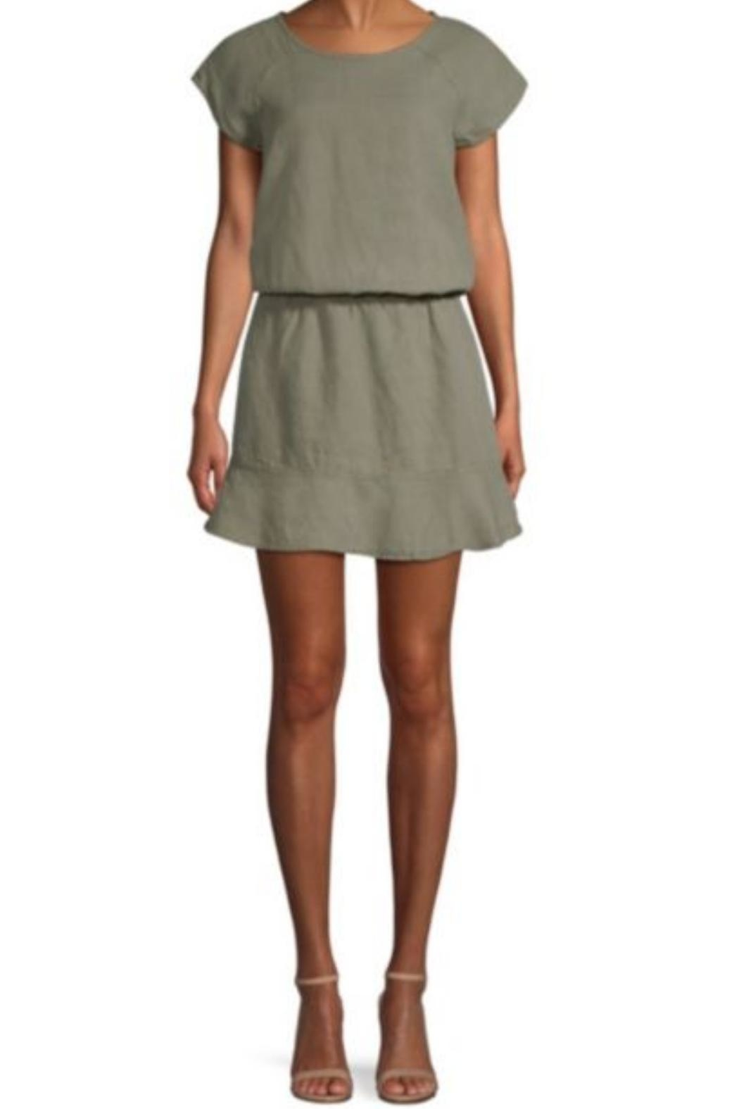 Joie Quora Linen Dress - Front Cropped Image