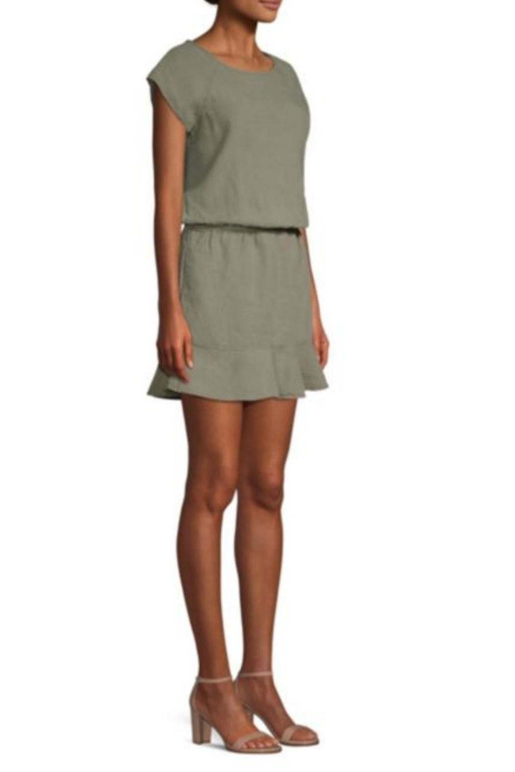 Joie Quora Linen Dress - Side Cropped Image