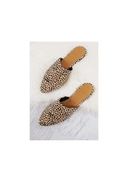 Qupid Animal Print Mules - Product Mini Image