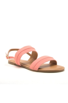 Qupid Archer Coral Sandal - Product List Image