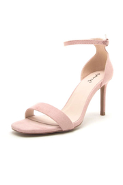 Qupid Backfire Nude Heel - Product Mini Image