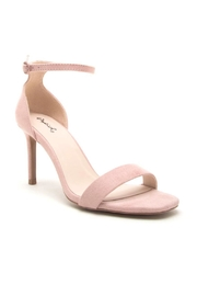 Qupid Backfire Nude Heel - Front cropped