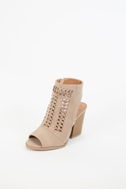 Qupid Barnes Peep-Toe Boot - Product Mini Image
