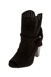 Qupid Black Booties - Product Mini Image