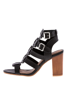 Shoptiques Product: Caged Black Heel