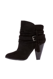 Qupid Black Bootie - Product Mini Image