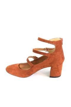Qupid Block Heel Pump - Product List Image
