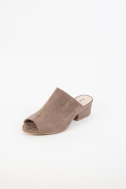 Qupid Cass Open-Toe Mule - Product Mini Image