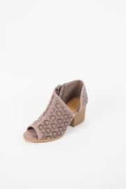 Qupid Core Perforated Boot - Product Mini Image