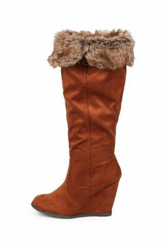Shoptiques Product: Fur Collar Boot