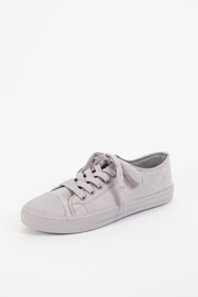 Qupid Narnia Lace-Up Sneaker - Front cropped