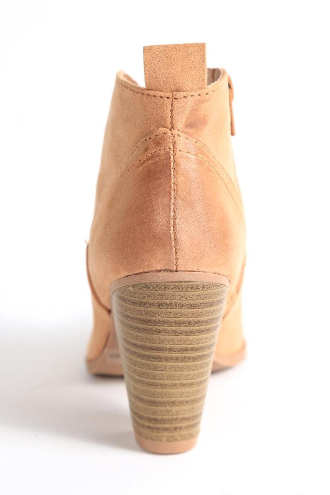Qupid Nixon Ankle Bootie - Front Full Image