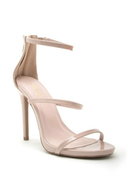 Qupid Nude Strappy Heel - Product Mini Image