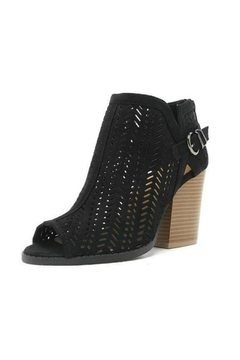 Shoptiques Product: Perforated Open Toe Bootie