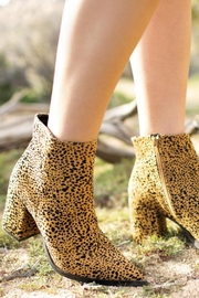 Qupid Planner Leopard Bootie - Other