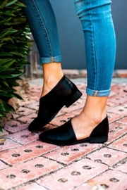 Qupid Pleather Slip-On Flat - Product Mini Image