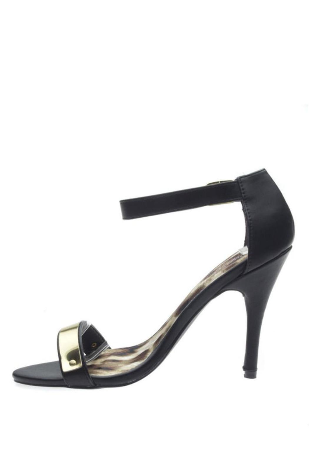 Qupid Policy Heel Pumps - Main Image