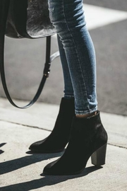 Qupid Portland Suede Booties - Front cropped