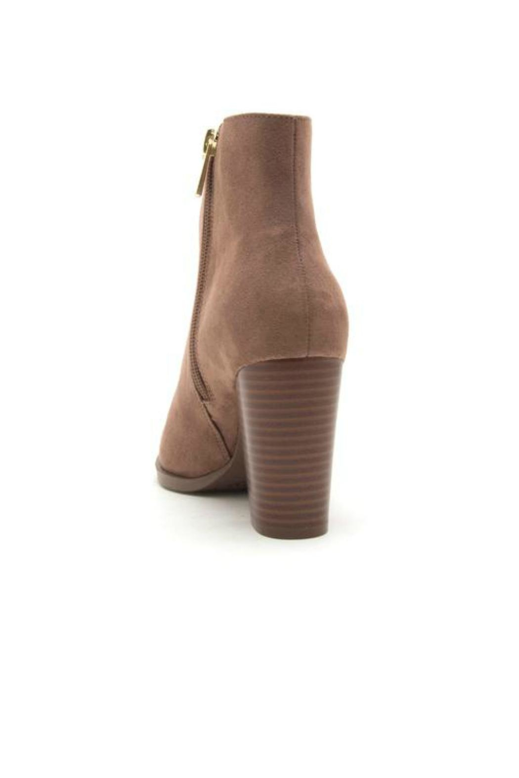 Qupid Portland Suede Booties - Side Cropped Image