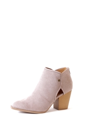Qupid Prenton Perforated Bootie - Product Mini Image