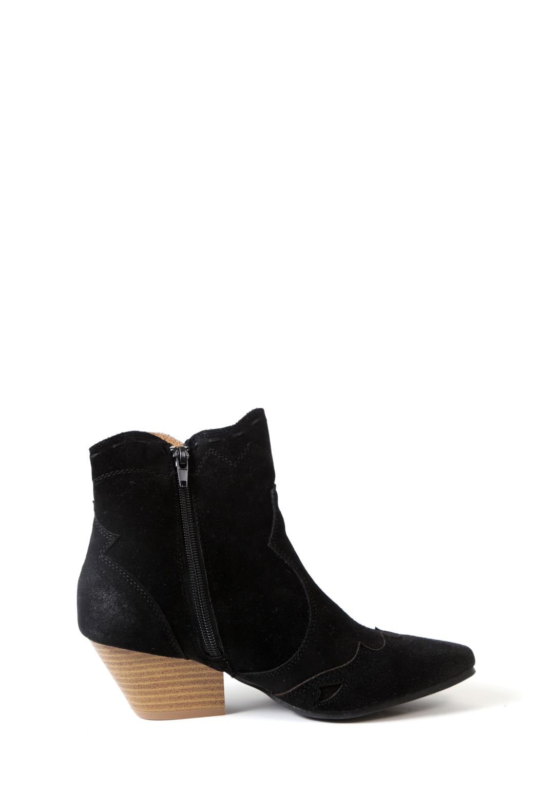 Qupid Rhythm Stitched Boot - Side Cropped Image