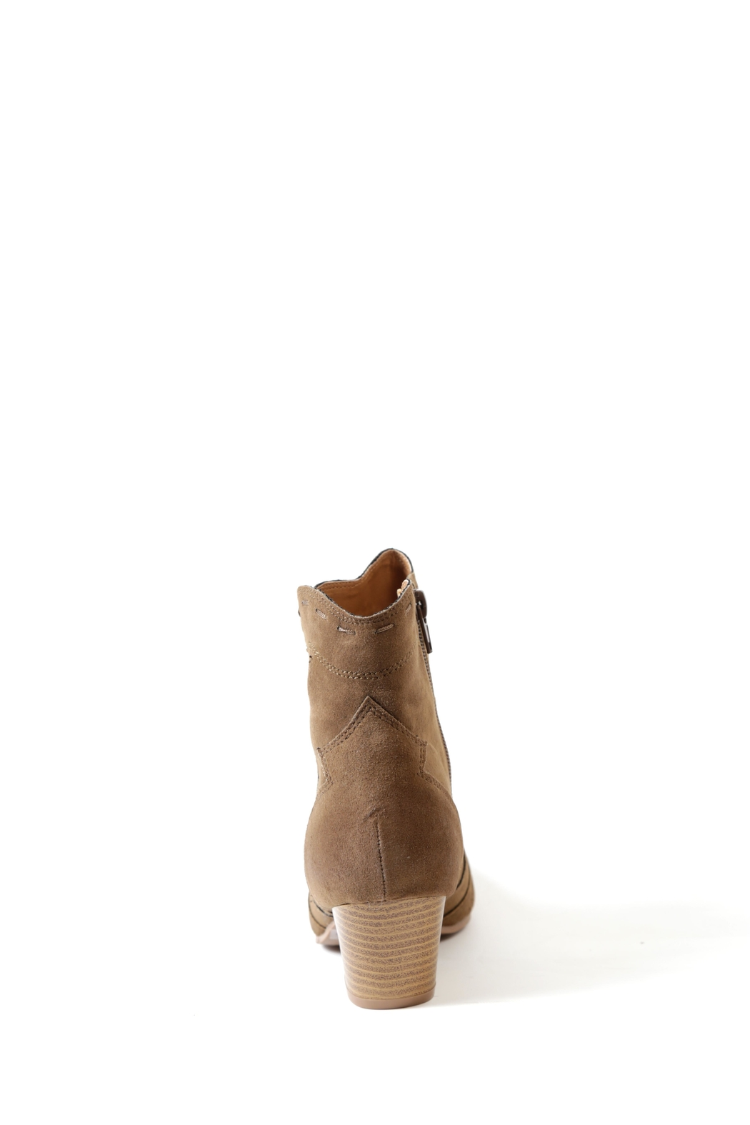 Qupid Rhythm Stitched Boot - Front Full Image