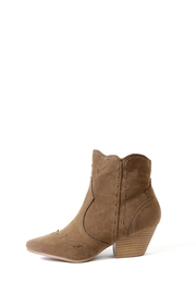 Qupid Rhythm Stitched Boot - Front cropped