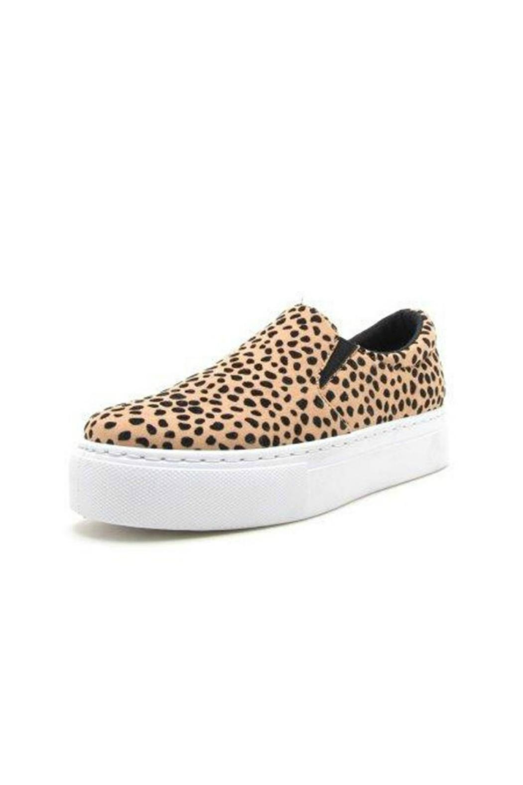 Qupid Showoff Leopard Sneakers from