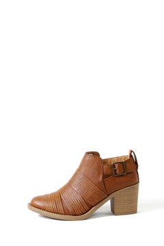 Qupid Side Buckle Tobin Bootie - Product List Image