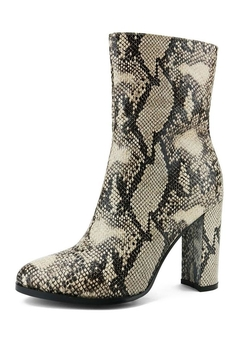 Qupid Snake Booties - Product List Image