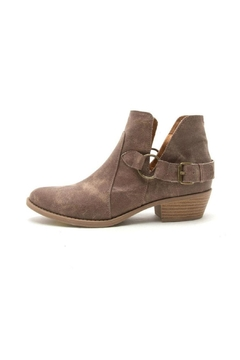 Qupid Sochi Distressed Bootie - Product List Image