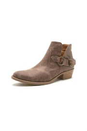 Qupid Sochi Distressed Bootie - Front full body