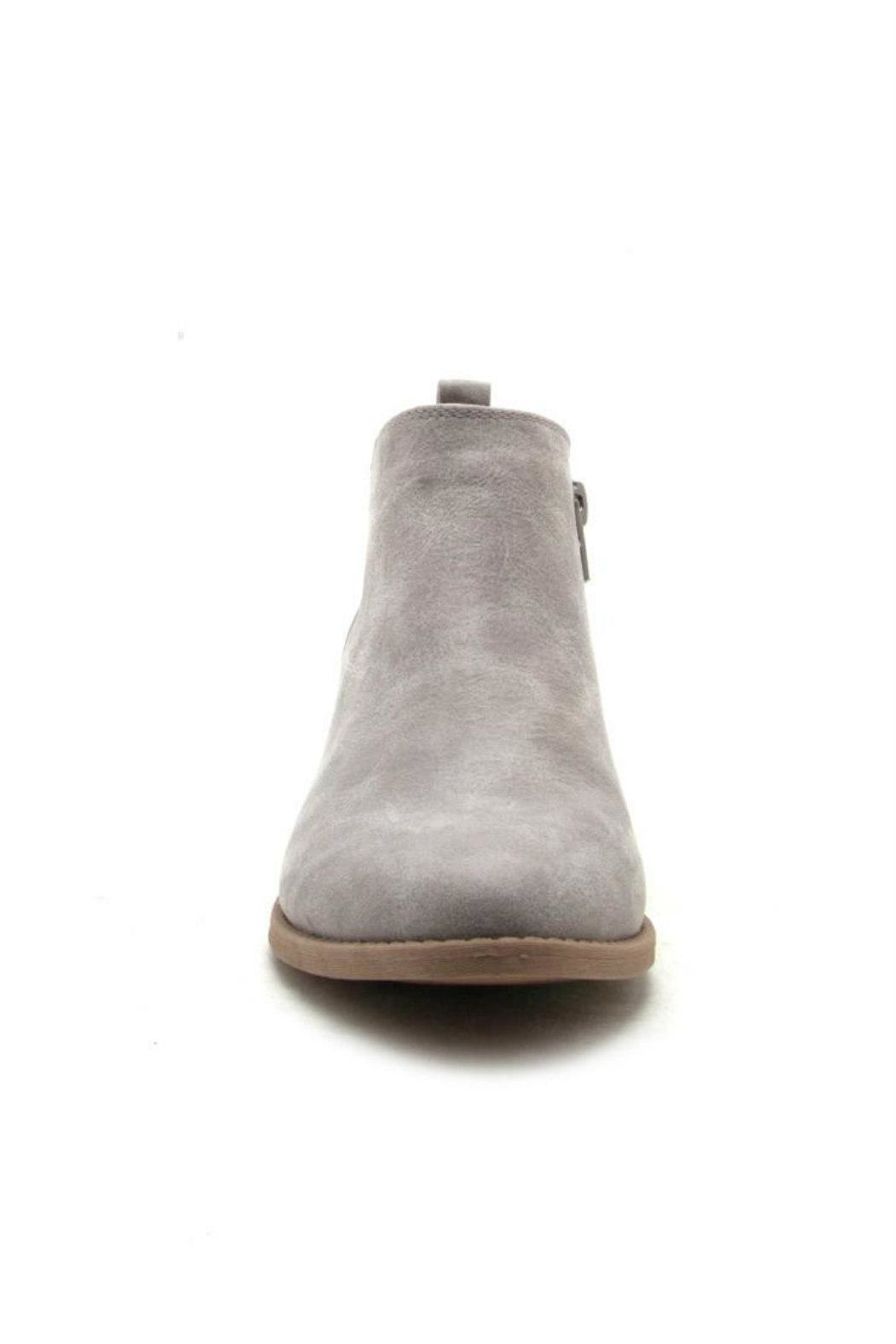 Qupid Sochi Distressed Bootie - Front Full Image