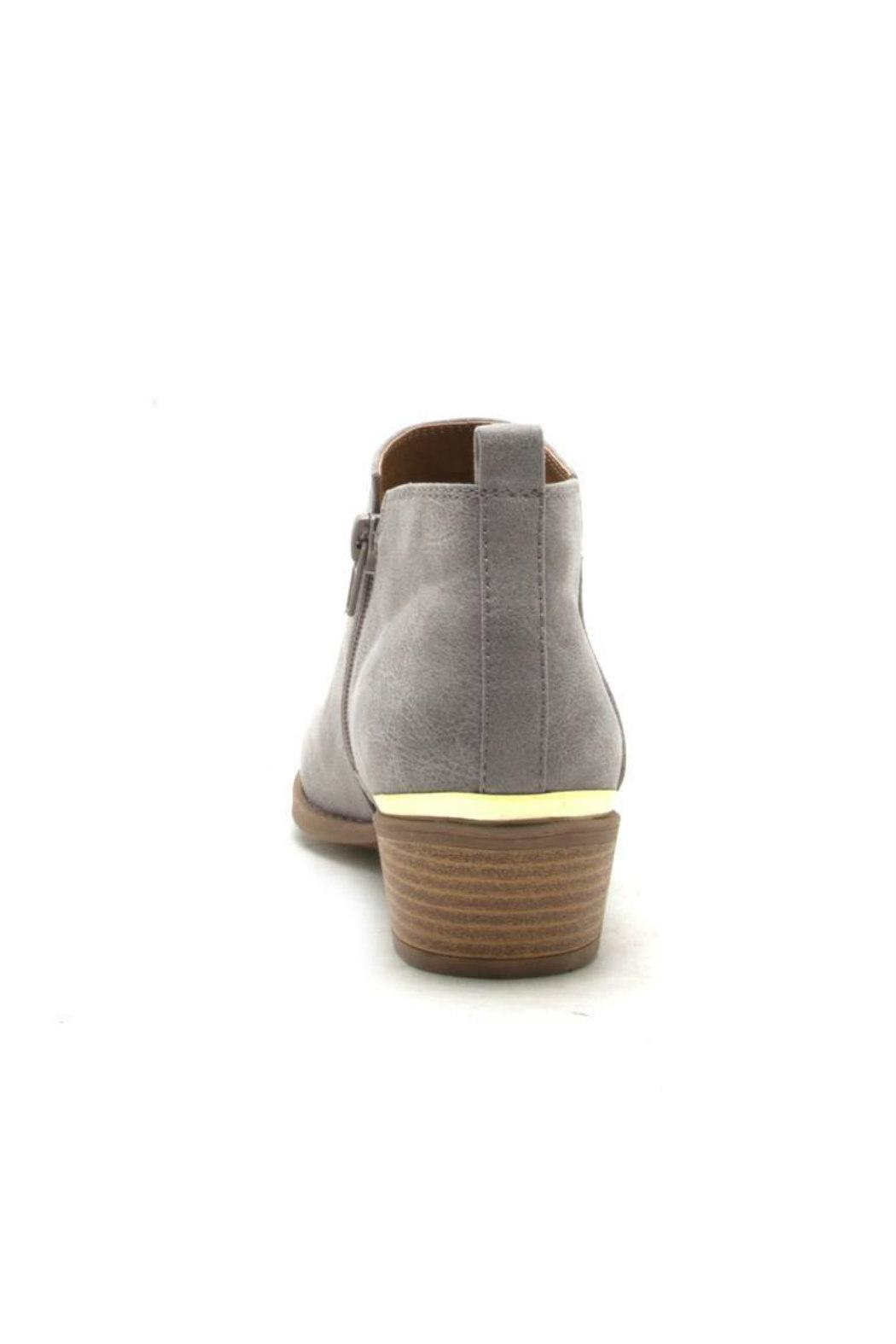 Qupid Sochi Distressed Bootie - Side Cropped Image