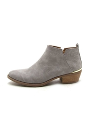 Qupid Sochi Distressed Bootie - Front cropped