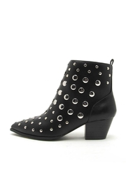 Qupid Studded Black Booties - Product Mini Image