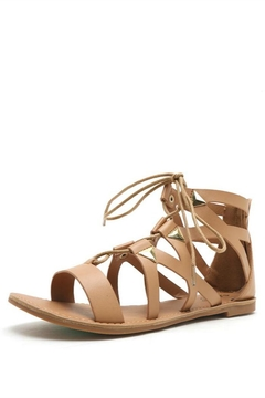 Qupid Studded Gladiator Sandal - Product List Image