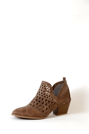 Qupid Travis Perforated Boot - Product Mini Image