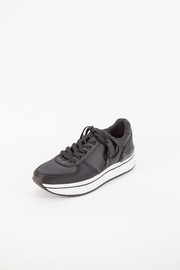 Qupid Tweed Platform Sneaker - Product Mini Image