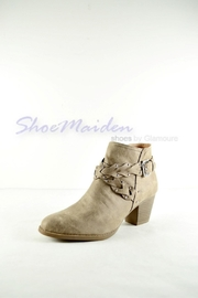 Qupid Western Braided Booties - Product Mini Image