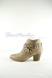 Qupid Western Braided Booties - Side cropped