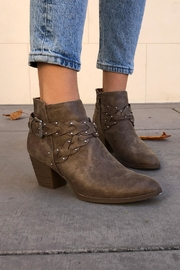 Qupid Western Braided Booties - Other