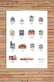 Ró   Buffalo Architecture Print - Front cropped