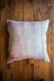 Ró   Hand-Dyed Wool Pillow - Front cropped