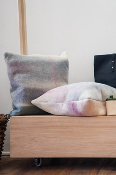 Ró   Hand-Dyed Wool Pillow - Alternate List Image