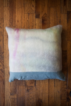 Ró   Hand-Dyed Wool Pillow - Product List Image