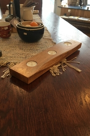 Ró   Live-Edge Candle Holder - Side cropped